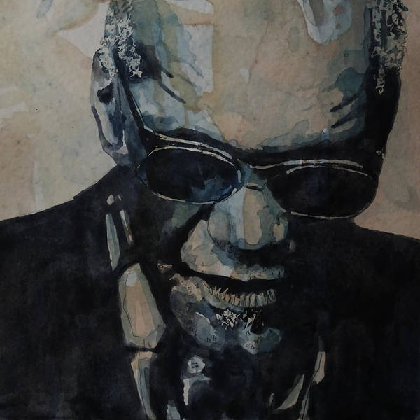 Charles Painting - Georgia On My Mind - Ray Charles  by Paul Lovering