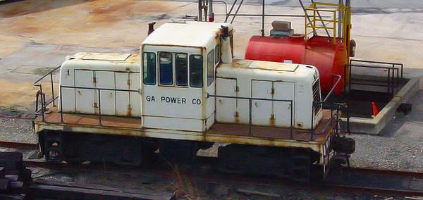 Georgia Power Company Photograph - Georgia Power 45 Tonner by Pat Turner