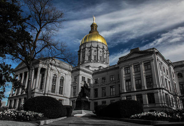 Photograph - Georgia State Capital by Kenny Thomas
