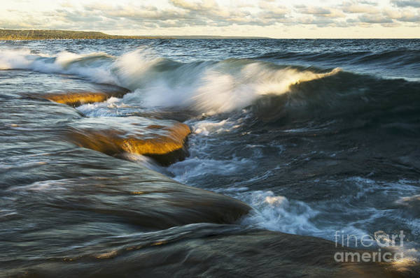 Photograph - Georgian Bay Sunrise by Steve Somerville