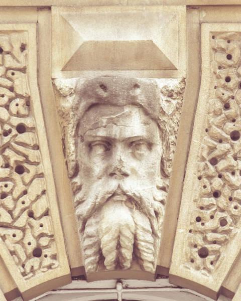Photograph - Georgian Decorative Keystone B by Jacek Wojnarowski
