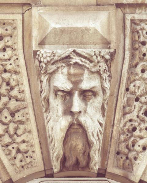 Photograph - Georgian Decorative Keystone D by Jacek Wojnarowski