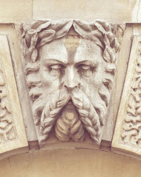Photograph - Georgian Decorative Keystone G by Jacek Wojnarowski