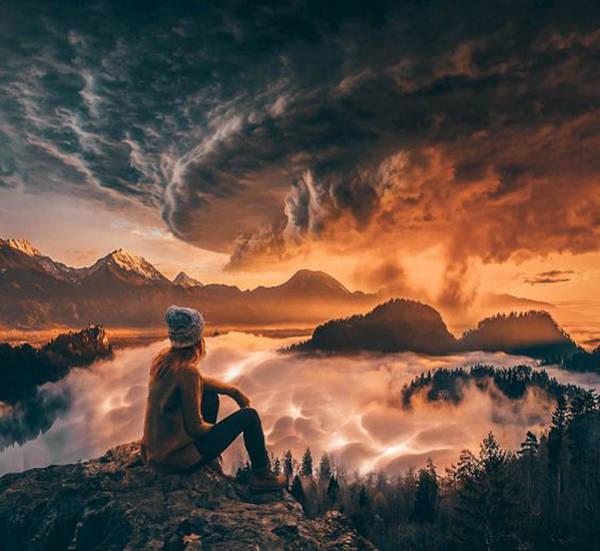 Tornado Digital Art - Geostorm by Alexander McWherter