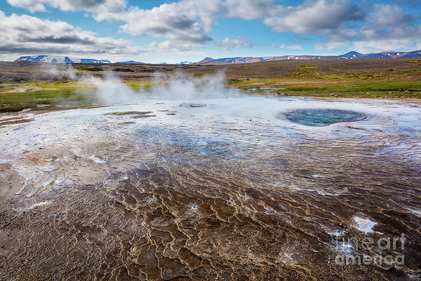 Photograph - Geothermal Patterns by Inge Johnsson