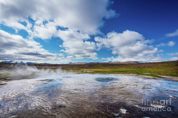 Photograph - Geothermal Reflection by Inge Johnsson