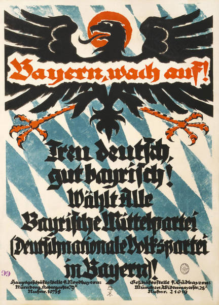 Photograph - German Campaign Poster, 1918 by Granger
