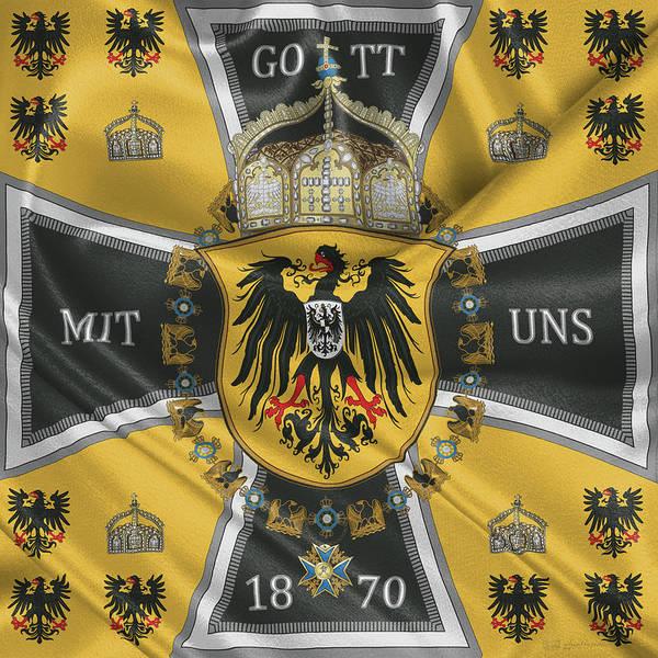 Digital Art - German Emperor Standard 1888-1918 by Serge Averbukh