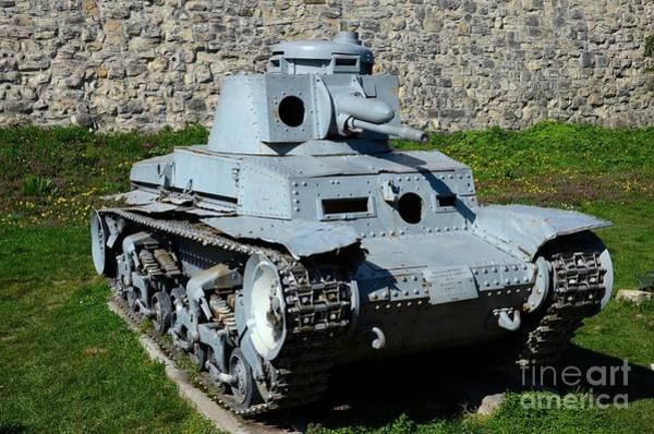 Photograph - German Panzer II World War Two Light Tank Belgrade Military Museum Serbia by Imran Ahmed