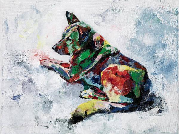 German Shepherd 2 Art Print