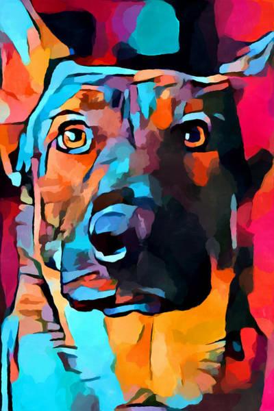 Wall Art - Painting - German Shepherd 7 by Chris Butler