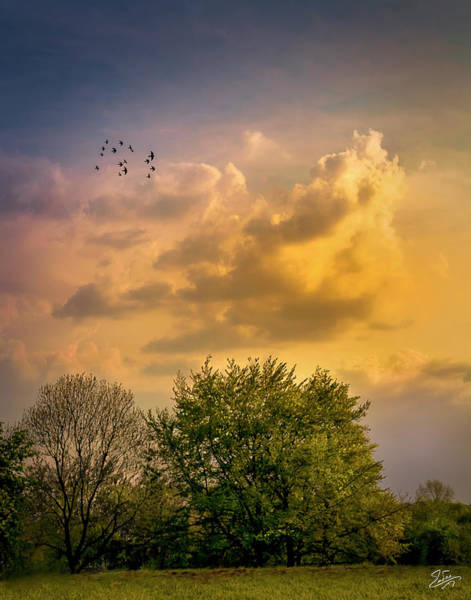 Photograph - German Sunset Clouds by Endre Balogh