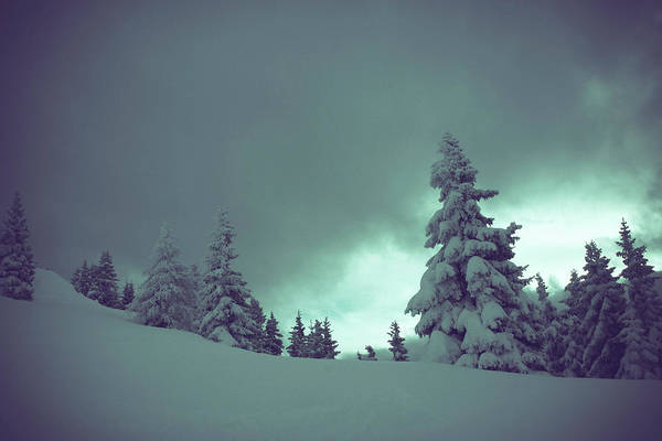 Snow Cover Photograph - German Winter Landscape by Happy Home Artistry