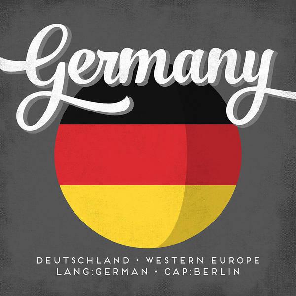Wall Art - Digital Art - Germany Defined by Flo Karp