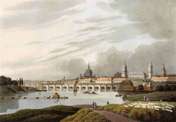 Drawing - Germany, Dresden, 1815 by Granger