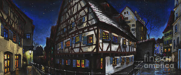 Germany Wall Art - Painting - Germany Ulm Fischer Viertel Schwor-haus by Yuriy Shevchuk