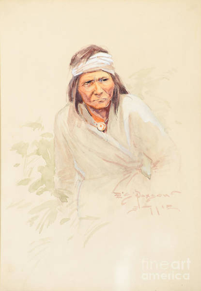 Native American Culture Painting - Geronimo by Celestial Images