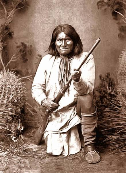 Wall Art - Photograph - Geronimo Digital Painting by Unknown