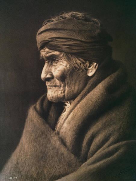 Wall Art - Photograph - Geronimo - Edward S. Curtis Portrait 1905 by Daniel Hagerman