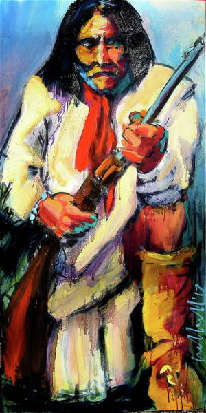 Painting - Geronimo by Les Leffingwell