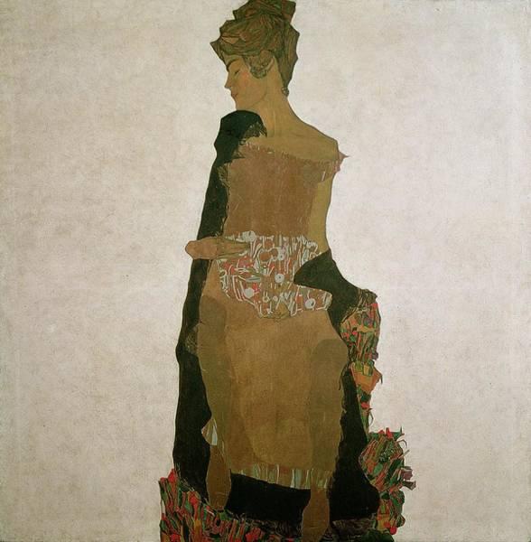 Wall Art - Painting - Gerti Schiele by Egon Schiele
