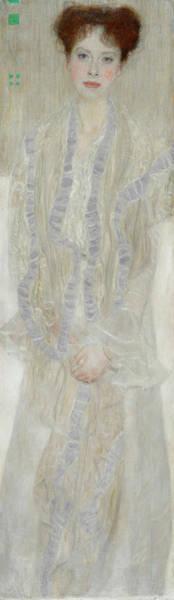 Beauty Wall Art - Painting - Gertrud Loew by Gustav Klimt