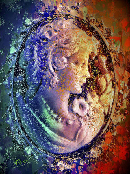 Mixed Media - Gertrude's Cameo by Al Matra
