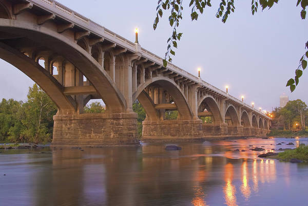 Sc Wall Art - Photograph - Gervais Bridge by Steven Richardson
