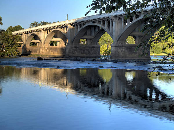 Photograph - Gervais Street Bridge-1 by Charles Hite