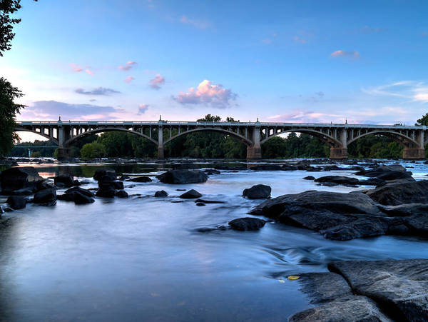 Photograph - Gervais Street Bridge-2 by Charles Hite