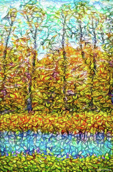 Digital Art - Gestures Of Autumn by Joel Bruce Wallach