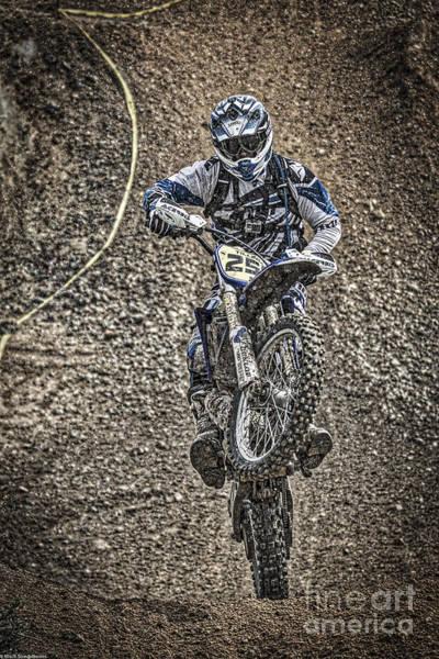 Dirt Bike Photograph - Get Dirty by Mitch Shindelbower