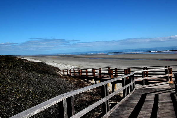 Kiawah Island Photograph - Get Me To The Beach Boardwalk by Rosanne Jordan