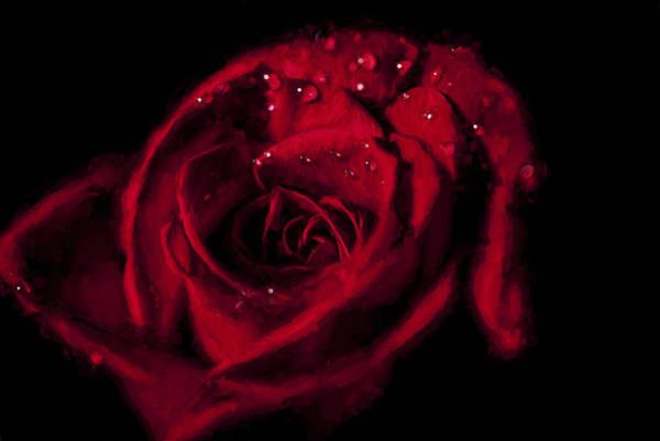 Digital Art - Get Red II by Jon Glaser