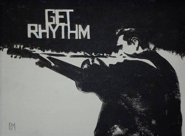 Rhythm Painting - Get Rhythm by Pete Maier