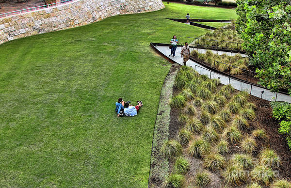 Wall Art - Photograph - Getty Museum Landscape  by Chuck Kuhn