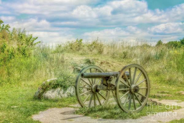 Gettysburg Battlefield Cannon Ver Two Art Print