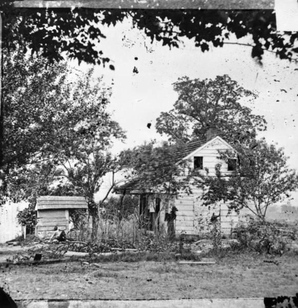 Gettysburg Battlefield Photograph - Gettysburg: Bryan House by Granger