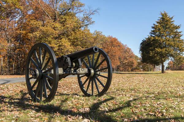 Gettysburg - Cannon In East Cavalry Battlefield Art Print