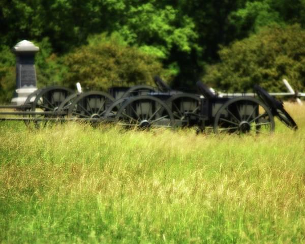 Photograph - Gettysburg Cassons by John Feiser