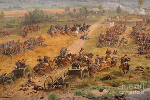 Gettysburg Cyclorama Detail Two Art Print