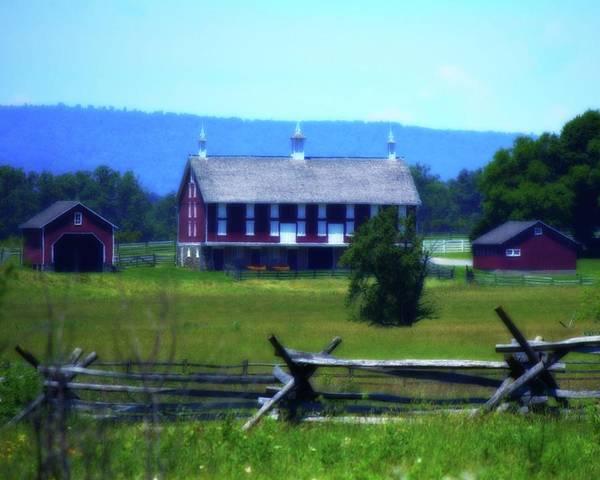 Photograph - Gettysburg Farm 1 by John Feiser
