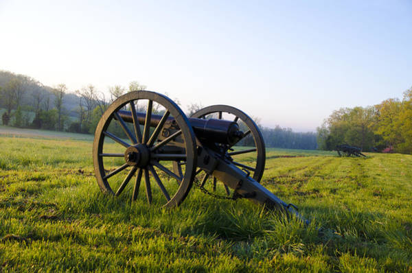 Photograph - Gettysburg Morning On The Battlefield by Bill Cannon