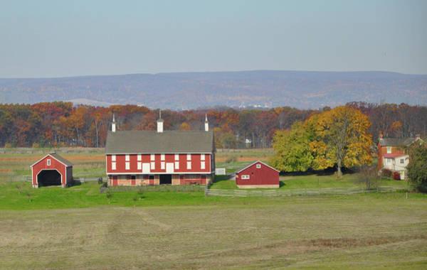 Photograph - Gettysburg Pennsyvania Farm by Bill Cannon