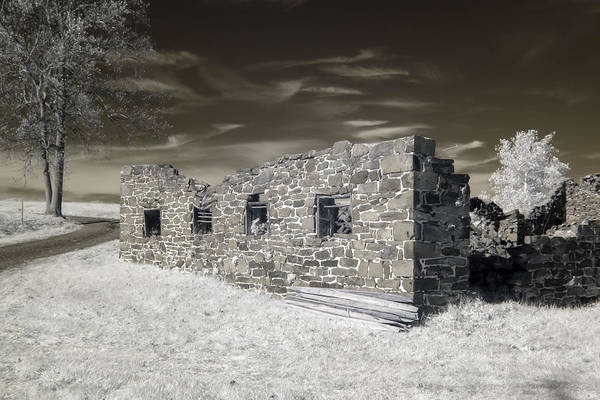 Gettysburg - Rose Farm Ruins Art Print