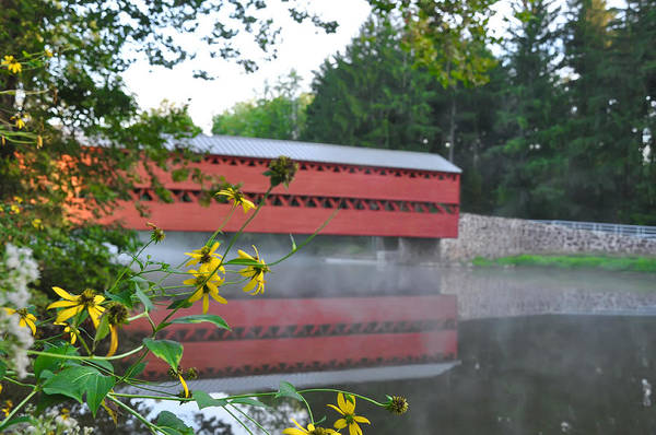 Photograph - Gettysburg - Sachs Covered Bridge by Bill Cannon