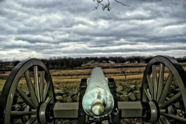 Artillery Brigade Photograph - Gettysburg  by Shelley Smith