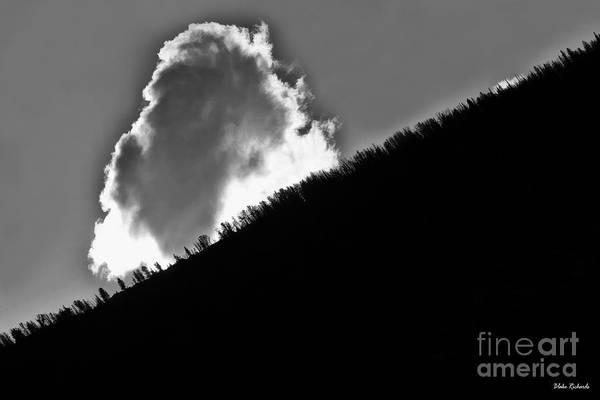 Photograph - Geyser Cloud Yellowstone by Blake Richards