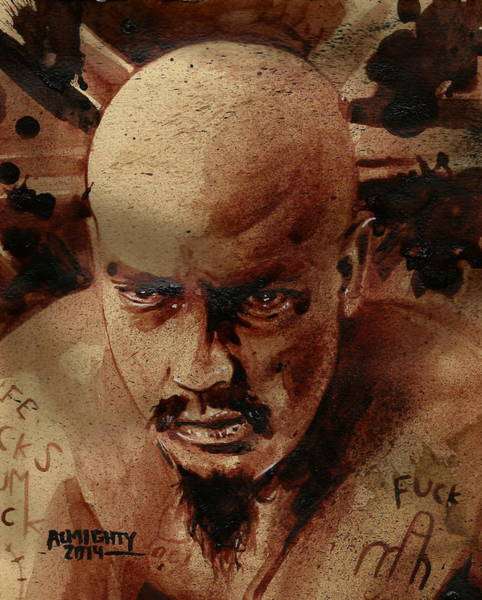 It Professional Painting - Gg Allin by Ryan Almighty
