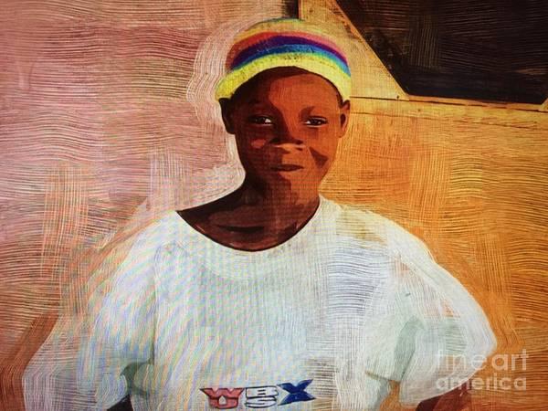 Ghana Painting - Ghana Sammy by Deborah Selib-Haig DMacq